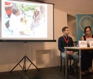 Konferencia- Jana Belišová a Joe Grim Feinberg