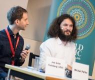 Konferencia Michal Paľko a Joe Grim Feinberg