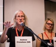 Konferencia- Andrew Cronshaw, Riitta Huttunen