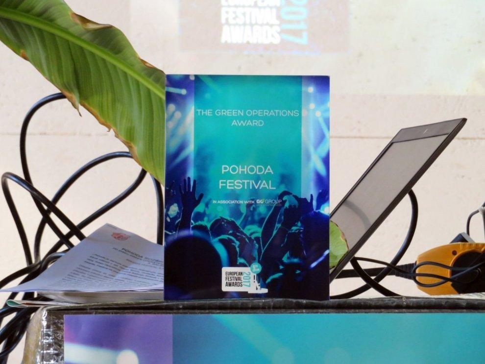 Najzelenší festival Pohoda predstavil novinky BOMBING