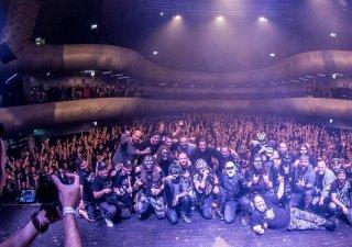 Vstredu 16.5.2018 zaznel záverečný koncert kapely DYMYTRY vrámci ich turné aosláv 15 rokov pod maskou v Brne. BOMBING 2