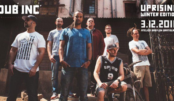 Hviezdami zimného Uprisingu budú The Skints a kultoví Dub Inc BOMBING 3