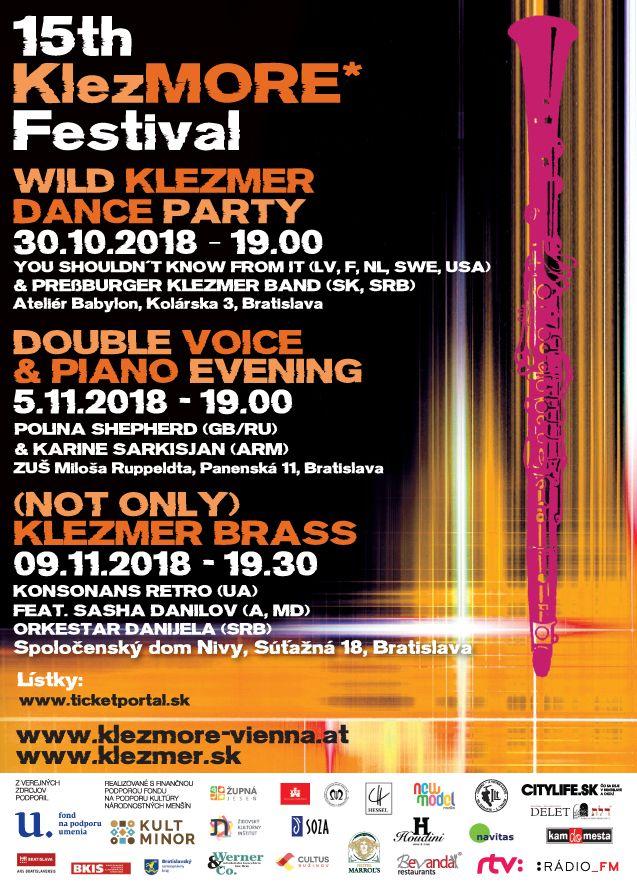15th KlezMORE Festival A5