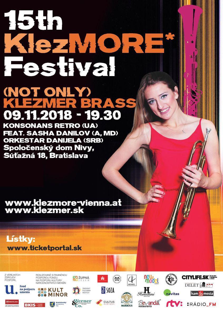 15th KlezMORE Festival A5 Daniela bez spadavok