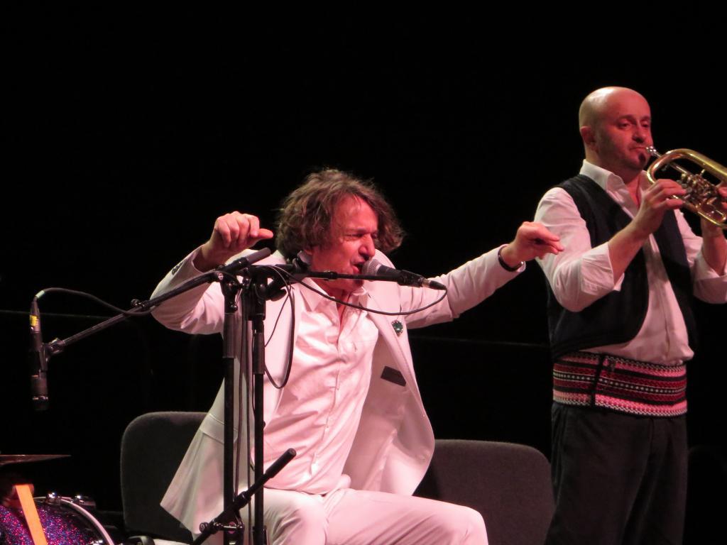 Goran Bregović opäť potešil milovníkov balkánskych rytmov BOMBING