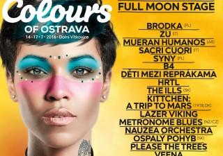 Colours of Ostrava prídávajú sedemnásť nových mien. Medzi nimi aj Ospalý pohyb zo Slovenska a Brodka z Poľska BOMBING 3