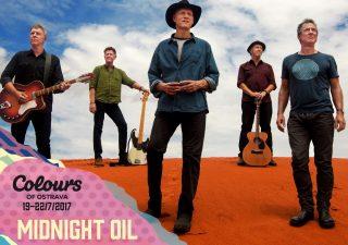 Midnight Oil na Colours of Ostrava 2017! Slávni austrálski rockeri sa vracajú na koncertné pódiá BOMBING