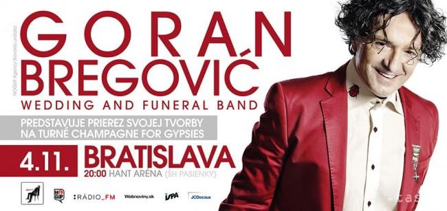 Goran Bregović bol v Bratislave úžasný BOMBING 1