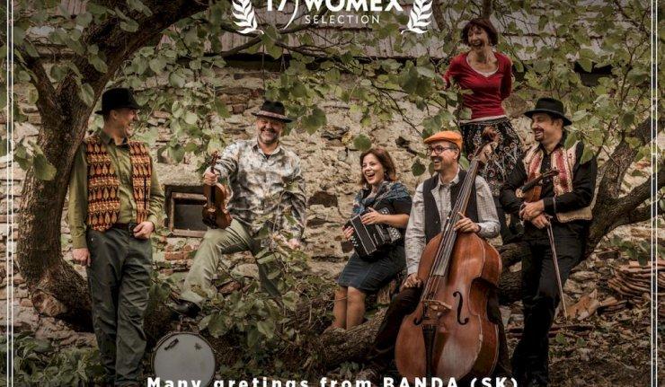 Je to tu – skupina Banda zahrá na veľtrhu WOMEX! BOMBING