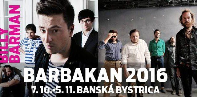 Barbakan festival tento rok s Billy Barman a88c49e041a