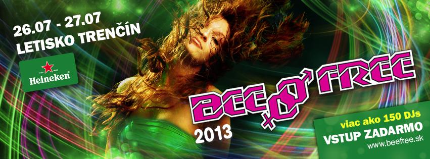 Festival BeeFree má pred sebou 15. ročník, z Piešťan sa sťahuje do Trenčína BOMBING