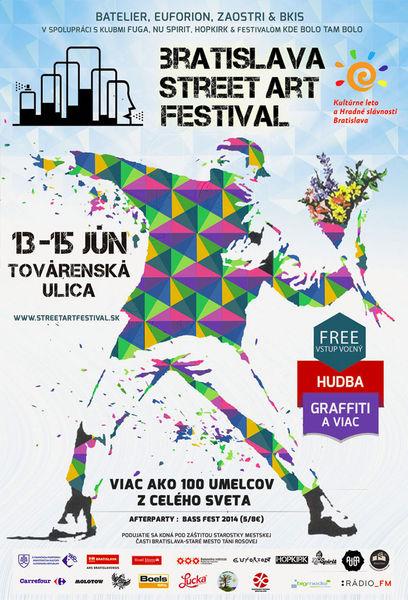 Bratislava Street Art Festival  BOMBING