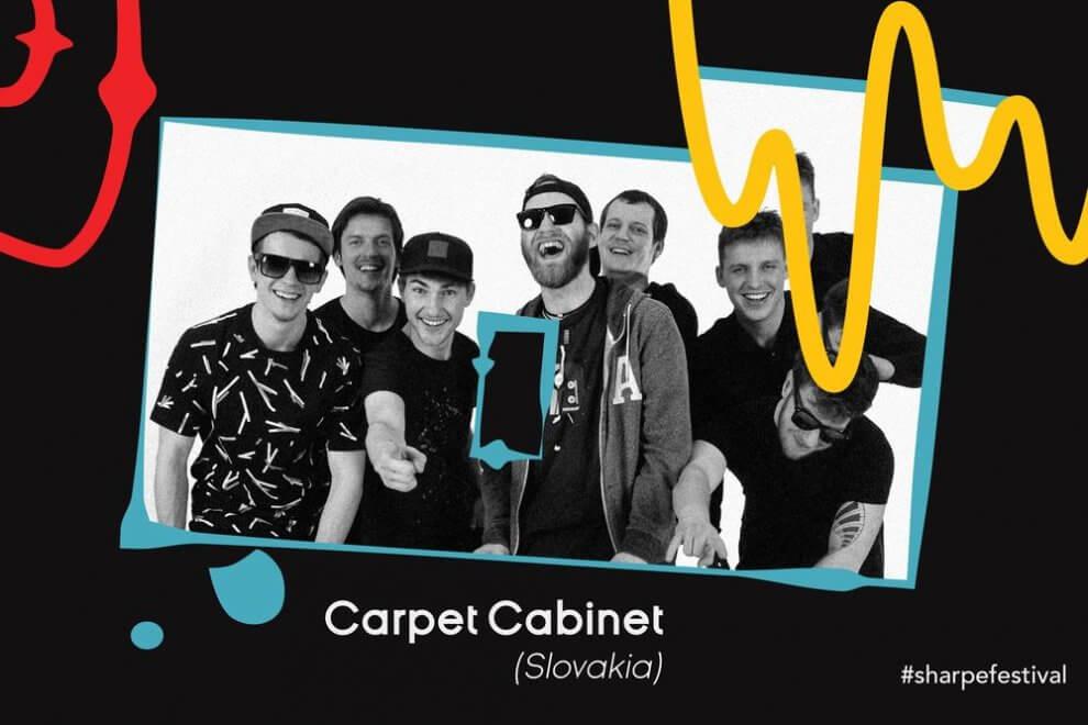 Carpet Cabinet so svetoznámym hudobníkom a pred svetovými odborníkmi BOMBING