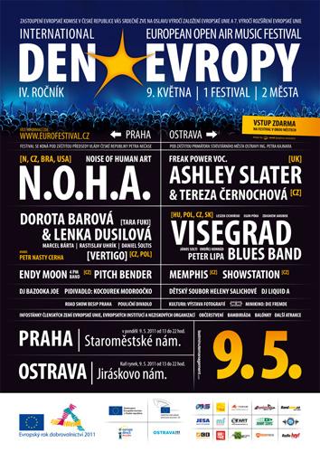 Dni Európy v Prahe a Ostrave dňa 9.3.2011 BOMBING