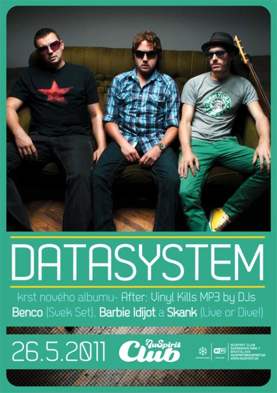 Datasystem pokrstia svoj debutový album v Nu Spirite. BOMBING