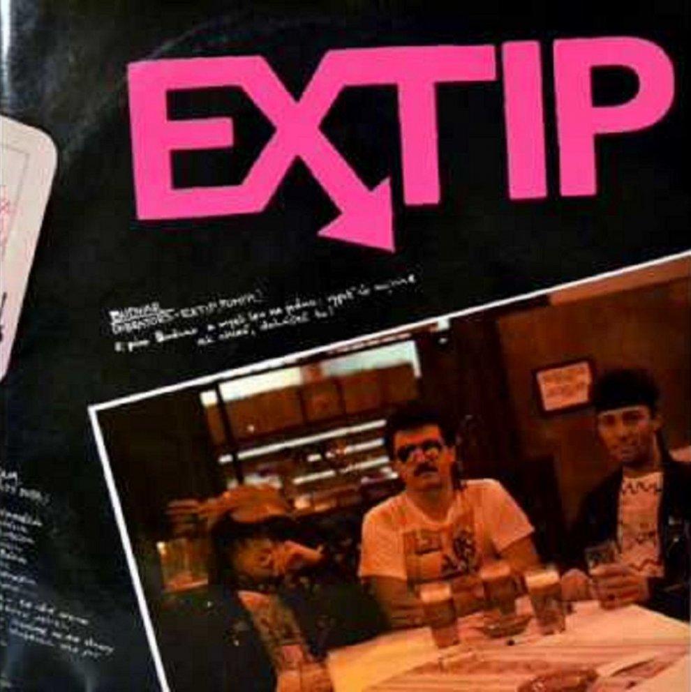 EXTIP - Pekný, škaredý deň (LP, 1991) - obal albumu
