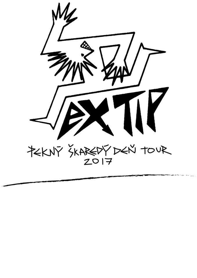 EXTIP - Pekný, škaredý deň Tour 2017 - plagát 2