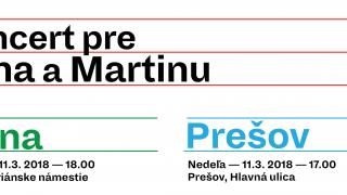 Koncerty pre Jána a Martinu vŽiline a v Prešove BOMBING