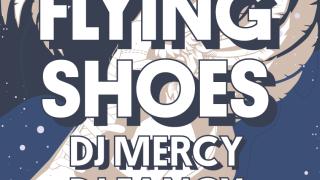 Flying shoes @Dunaj~Bar BOMBING