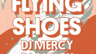 Flying shoes @ Dunaj~Bar BOMBING