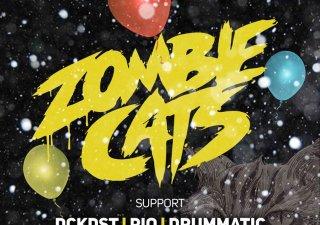 Tretie narodeniny BASS Factory oslávi so špeciálnym hosťom Zombie Cats BOMBING 2