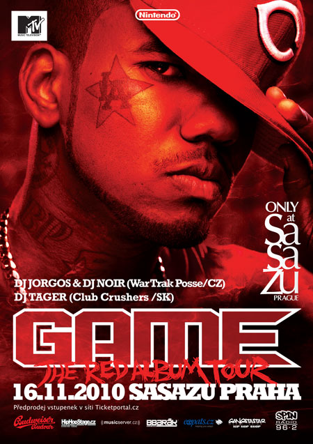 GAME  The RED Album Tour / SaSaZu 16/11/20010 BOMBING