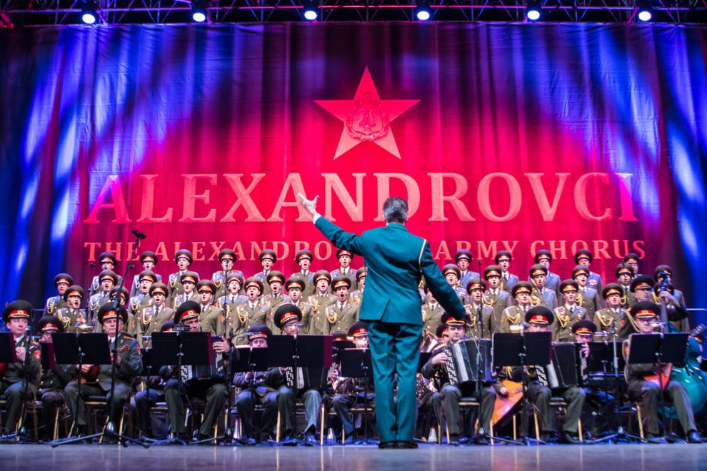 Alexandrovci odohrali nezabudnuteľný koncert v Bratislave. BOMBING
