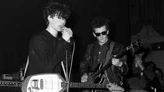 A JESUS AND MARY CHAIN CONCERT AT NORTH LONDON POLYTECHNIC IN MARCH 1985 WHERE A RIOT BROKE OUT - BRITAIN