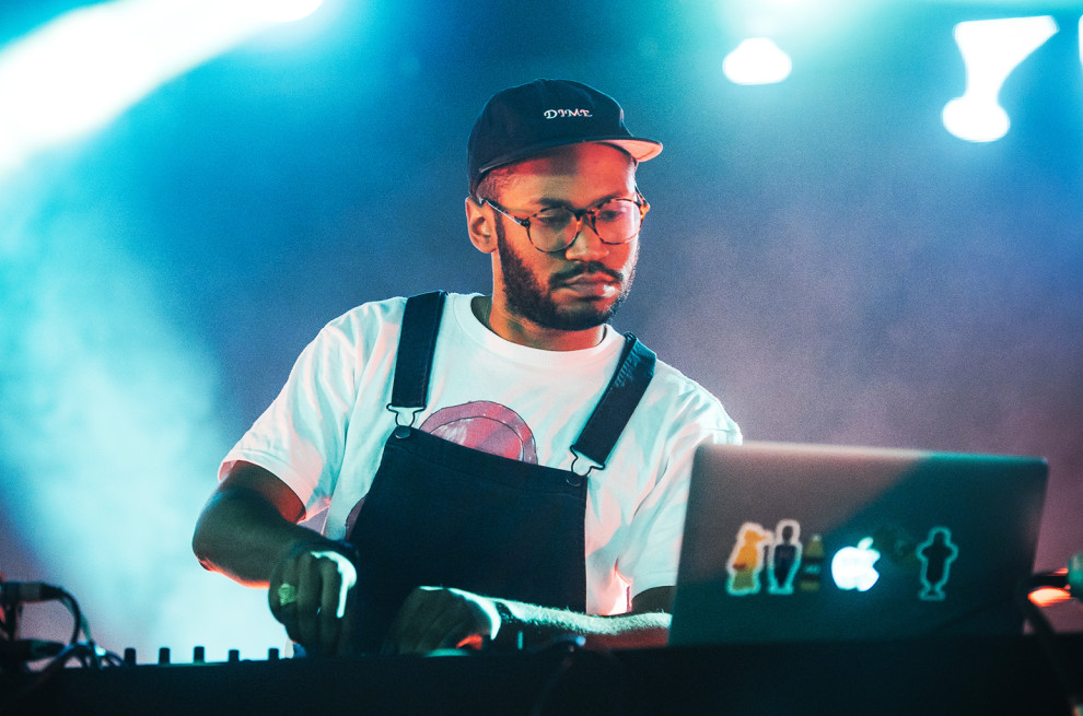 Kanadský producent Kaytranada zavíta na festival Grape! BOMBING
