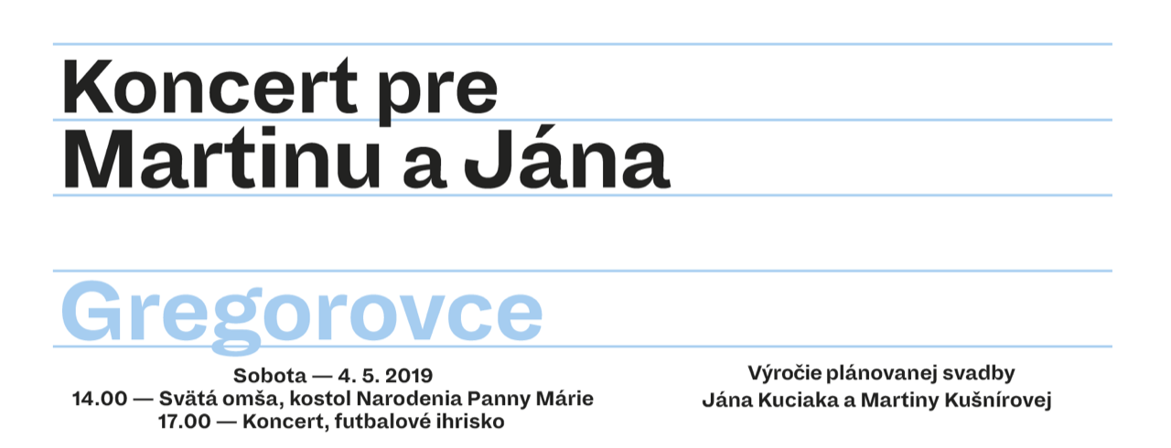 Koncert Gregorovce 2019 cover 04