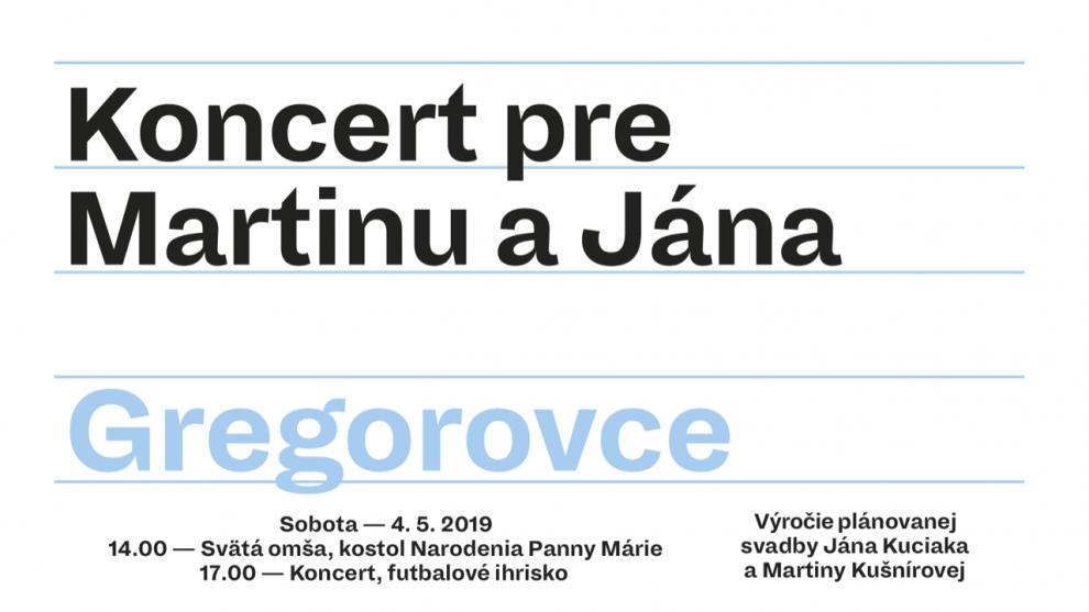 Koncert Gregorovce 2019 event 03