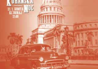 Na Kubánskej noci sa bude tancovať na autentické rytmy Latinskej Ameriky BOMBING