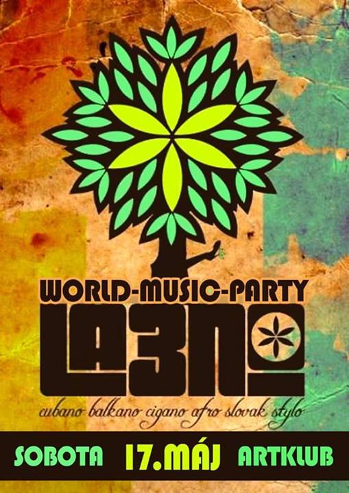 World Music Party s kapelou La3no Cubano @ARTKLUB BOMBING