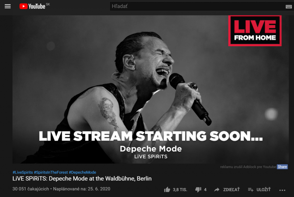LiVE SPiRiTS Depeche Mode at the Waldbühne Berli