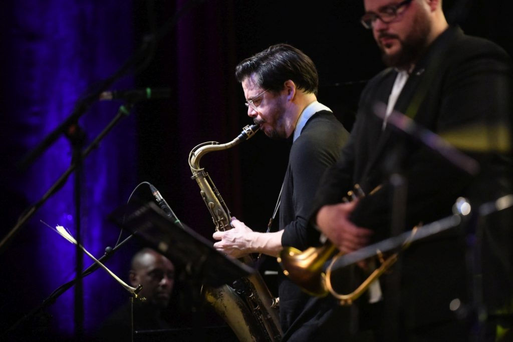 Lukas Oravec Quartet feat Seamus Blake and Danny Grissett