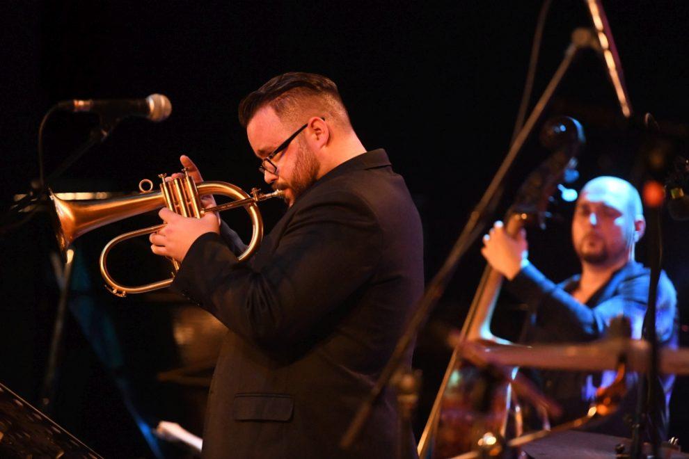 Lukas Oravec Quartet with Tomas Baros photo Richard Kohler