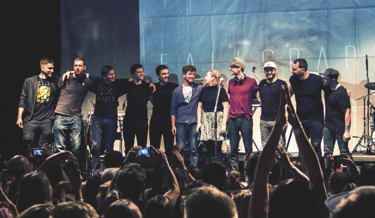 Fallgrapp naplnil MMC a odprezentoval nový album V hmle BOMBING