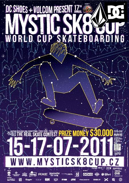 Mystic Sk8 Cup 2011 slibuje návrat ke kořenům skateboardingu BOMBING