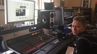 Depeche Mode v nahrávacom štúdiu! BOMBING 4