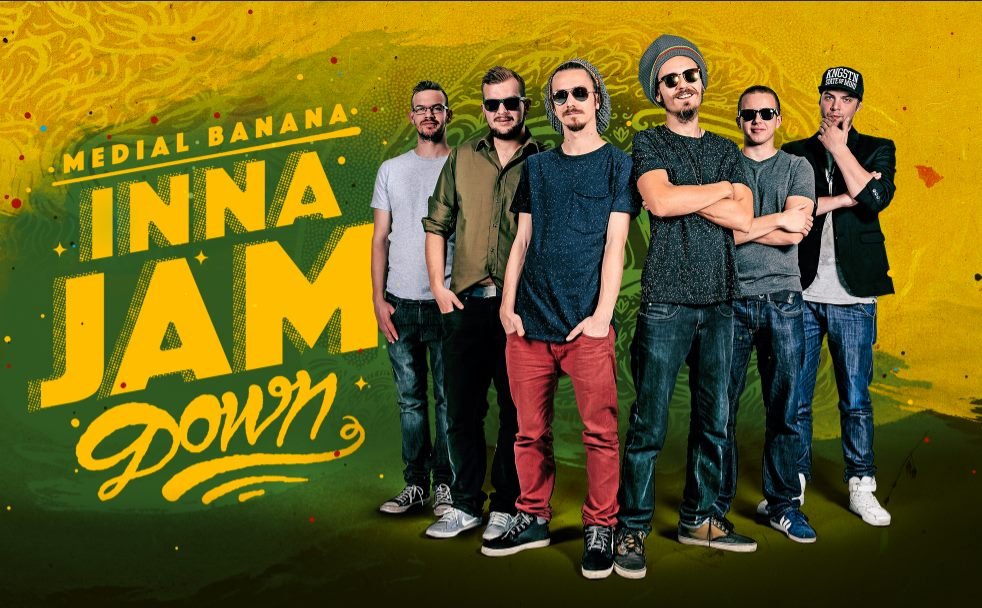 Kapela Medial Banana vyráža s novým albumom na Jamajku. BOMBING