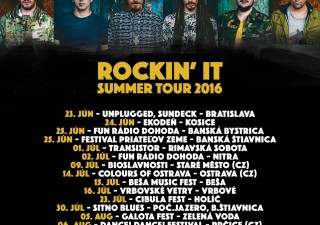 Medial Banana - Rockin' It Summer Tour 2016