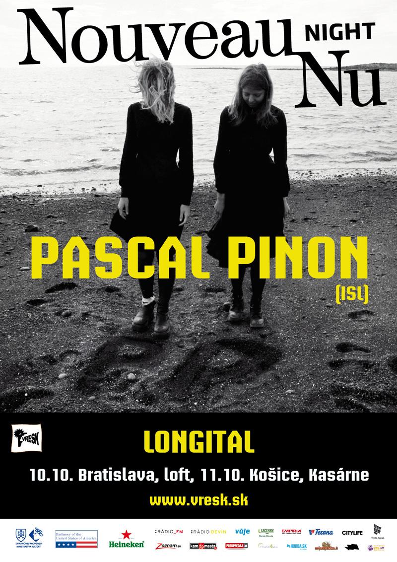 Predskokanom islandských dvojičiek Pascal Pinon bude v Bratislave duo Longital BOMBING 2