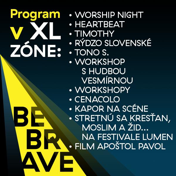 Program v XL zóne