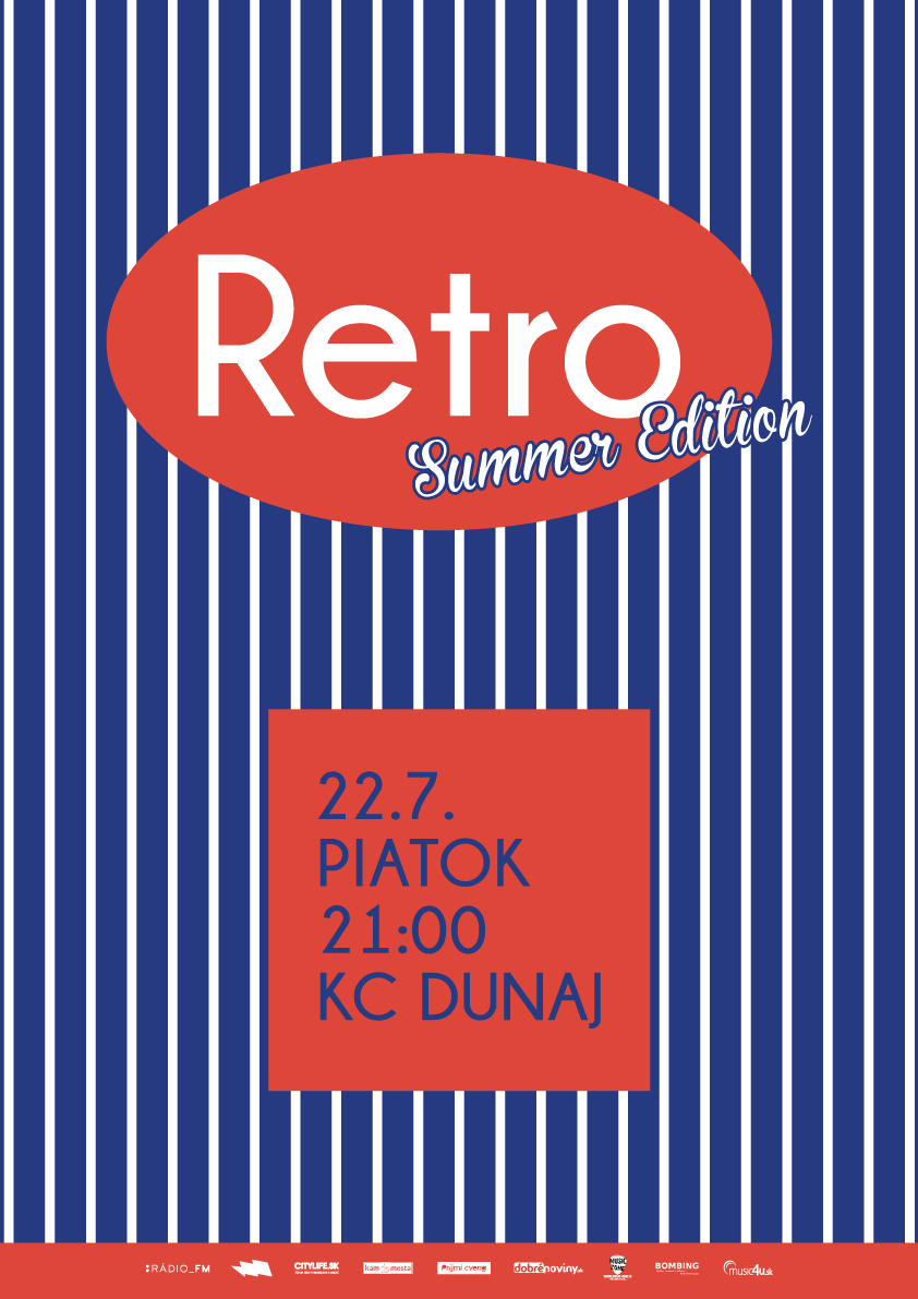 RETRO (summer edition) @Dunaj~Bar BOMBING