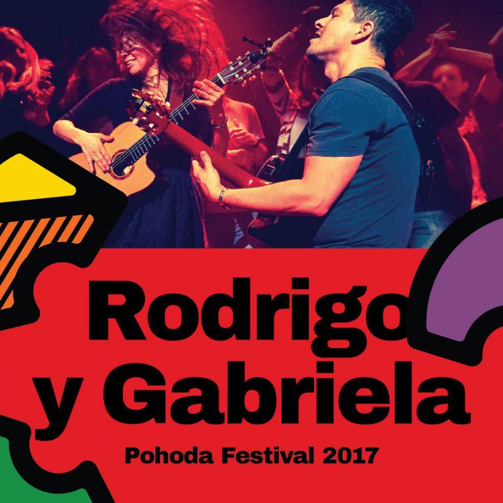 Mexické gitarové duo Rodrigo y Gabriela na Pohode 2017 BOMBING 1