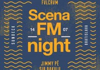 Scéna_FM oslávi svoje tretie narodeniny v Piatok 14.7 na bratislavskom Sun Decku. BOMBING