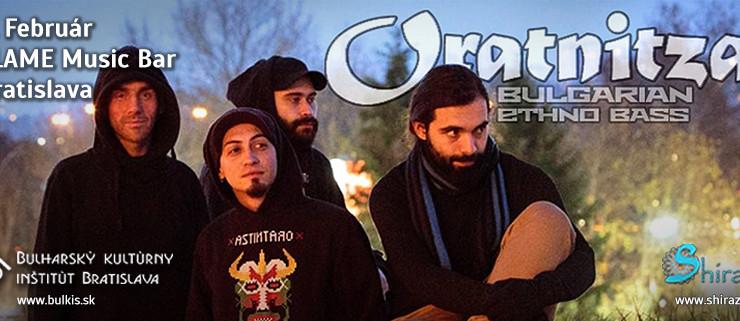 Bulharská kapela Oratnitza zahrá vo FLAME Music bare BOMBING
