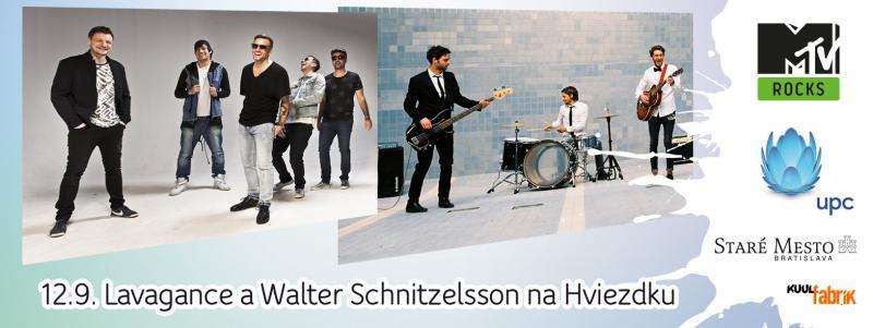 MTV prinesie do centra Bratislavy koncerty Lavagance a Walter Schnitzelsson, vstup bude voľný BOMBING 1