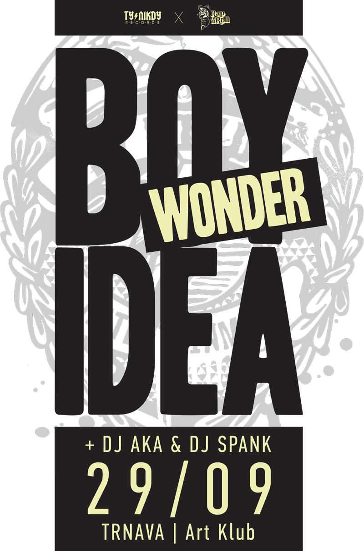 Boy WONDER & IDEA v Trnavskom KÁČKU BOMBING