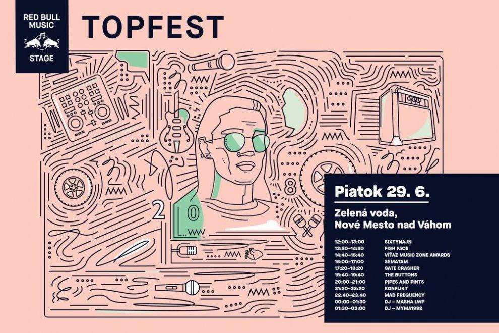 Topfest Lineup Piatok